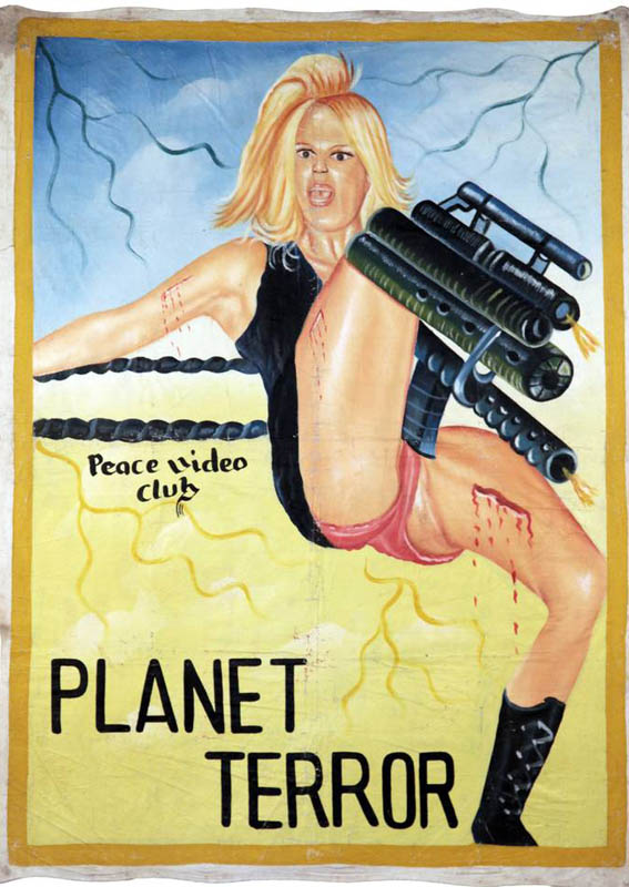 planet terror grindhouse Bootleg Movie Posters from Ghana