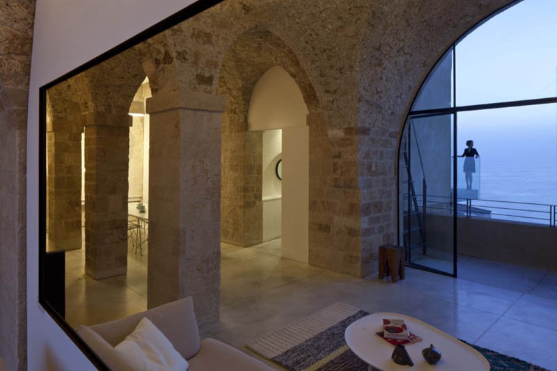 Beautiful stone home restoration in israel twistedsifter for The design home