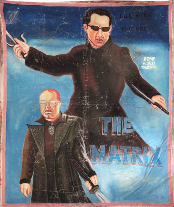 the matrix Bootleg Movie Posters from Ghana