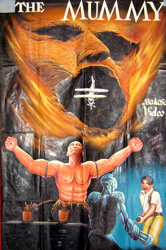 the mummy platoon Bootleg Movie Posters from Ghana