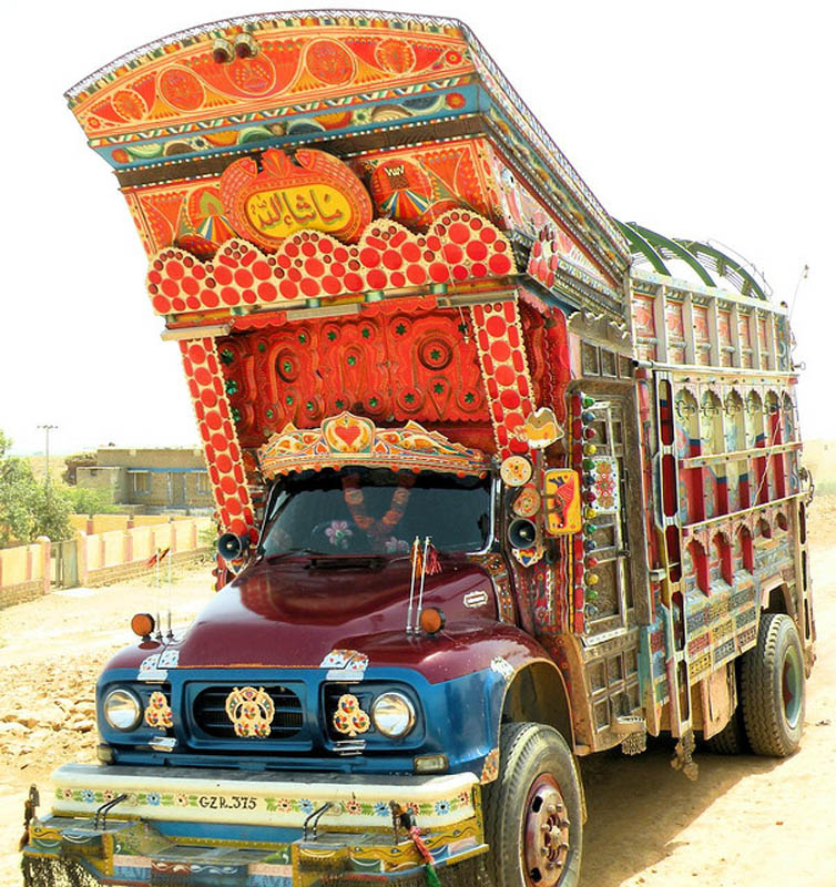 truck art pakistan 1 Decorative Truck Art from Pakistan