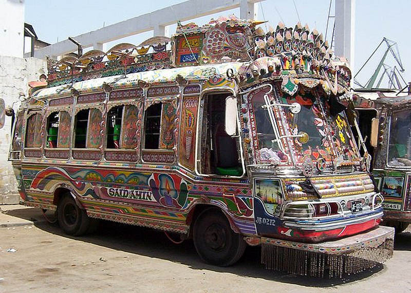 truck art pakistan 12 Decorative Truck Art from Pakistan