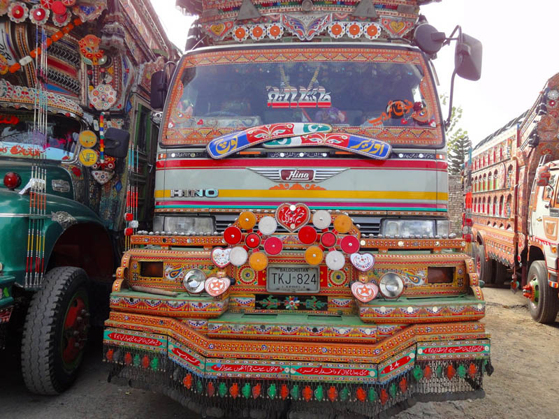 truck art pakistan 3 Decorative Truck Art from Pakistan
