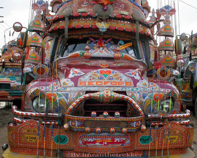 truck art pakistan 5 Decorative Truck Art from Pakistan