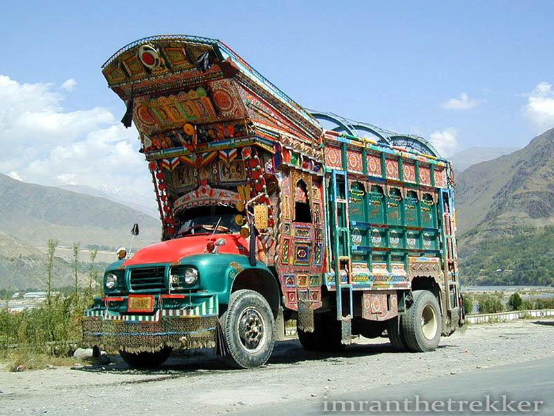 truck art pakistan 6 Decorative Truck Art from Pakistan