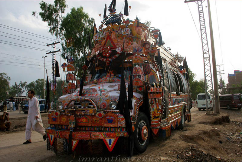 truck art pakistan 7 Decorative Truck Art from Pakistan