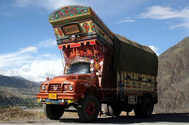 truck art pakistan 9 Decorative Truck Art from Pakistan