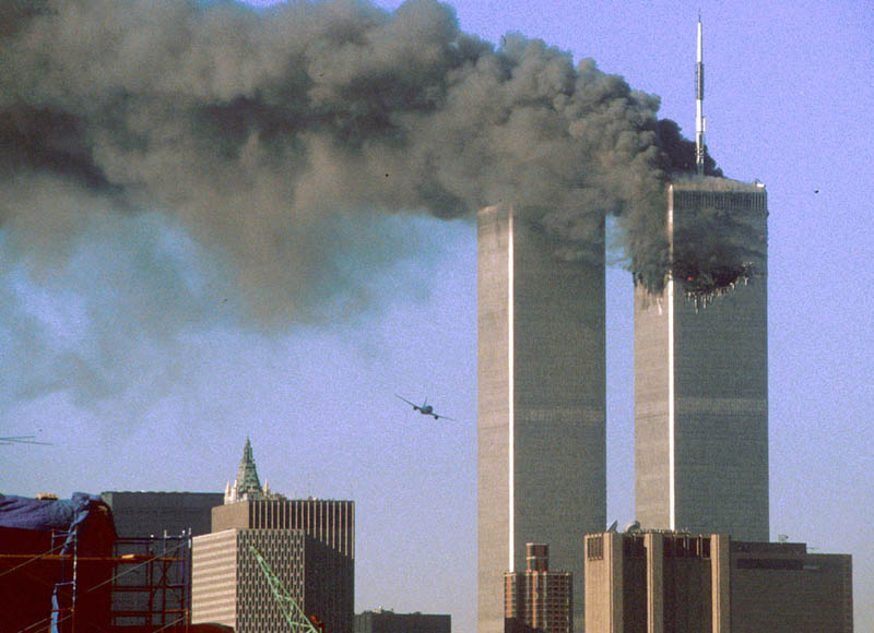 ua flight 175 flies into wtc south tower sept 11 reuters sean adair The Largest Sea Evacuation in History