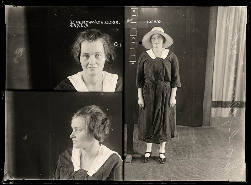 vintage female mug shots 13 Femme Fatales: 35 Vintage Female Mug Shots