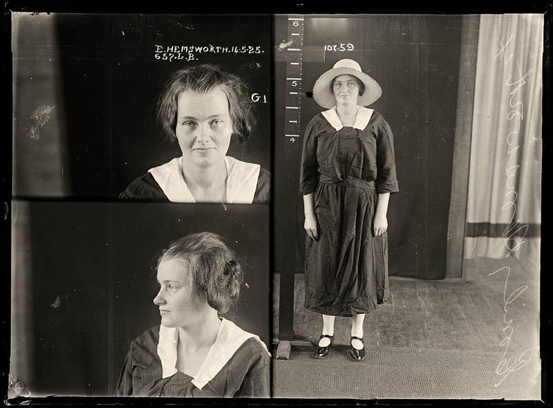 vintage female mug shots 13 Femme Fatales: 35 Vintage Female Mug Shots