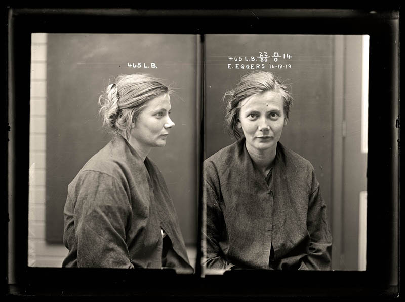 vintage female mug shots 14 Femme Fatales: 35 Vintage Female Mug Shots