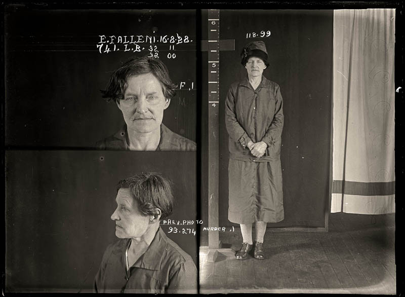 vintage female mug shots 16 Femme Fatales: 35 Vintage Female Mug Shots