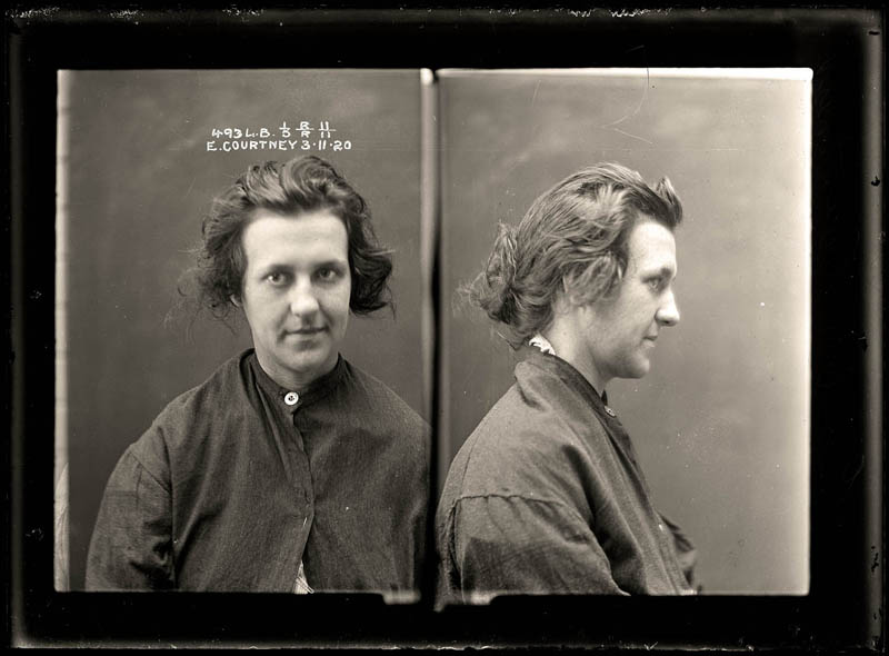 vintage female mug shots 17 Femme Fatales: 35 Vintage Female Mug Shots