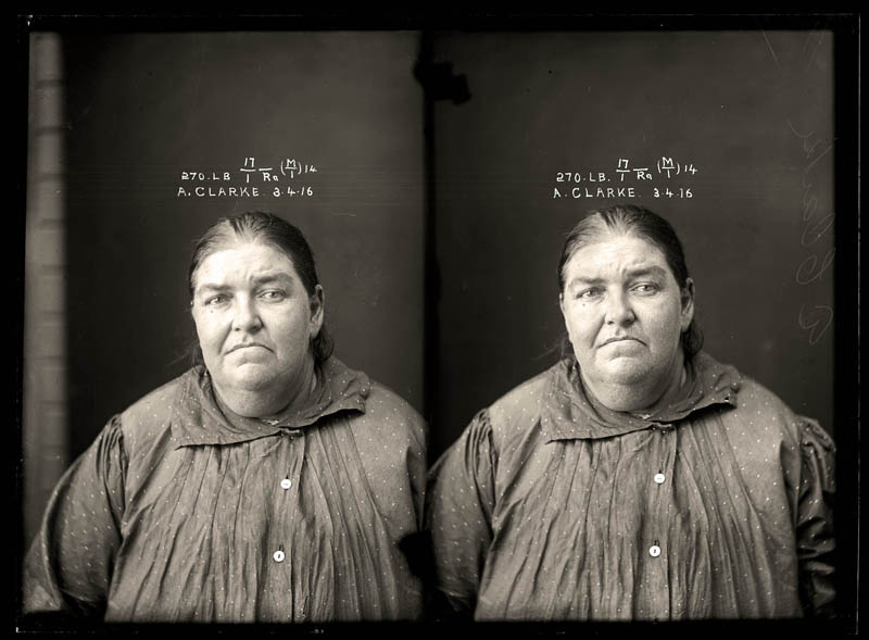 vintage female mug shots 2 Femme Fatales: 35 Vintage Female Mug Shots