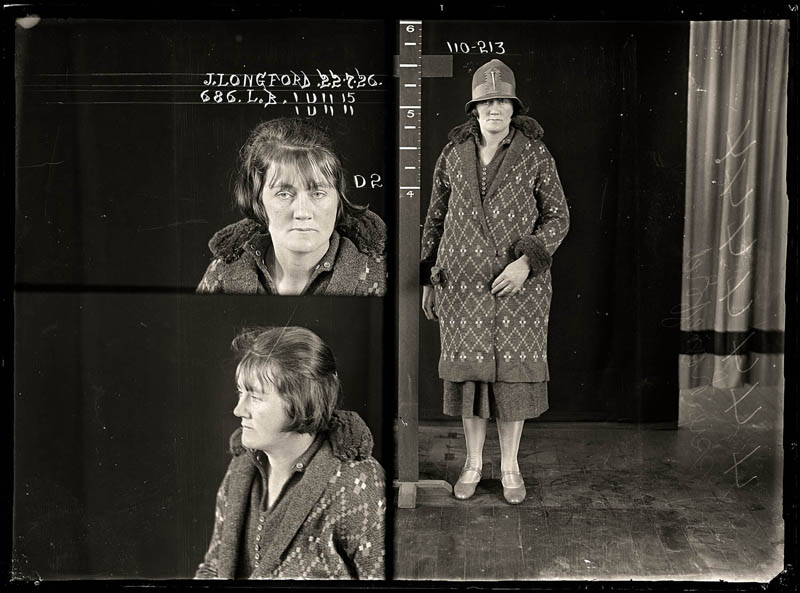 vintage female mug shots 20 Femme Fatales: 35 Vintage Female Mug Shots
