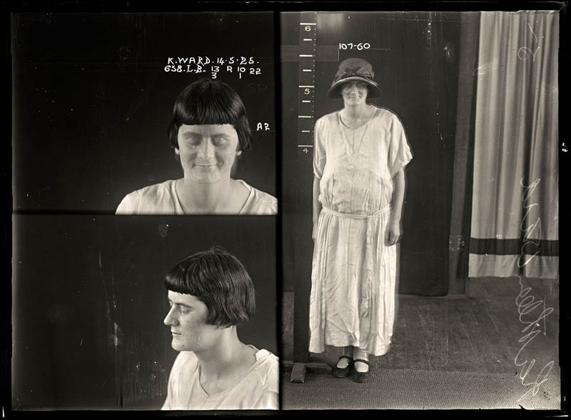 vintage female mug shots 21 Femme Fatales: 35 Vintage Female Mug Shots