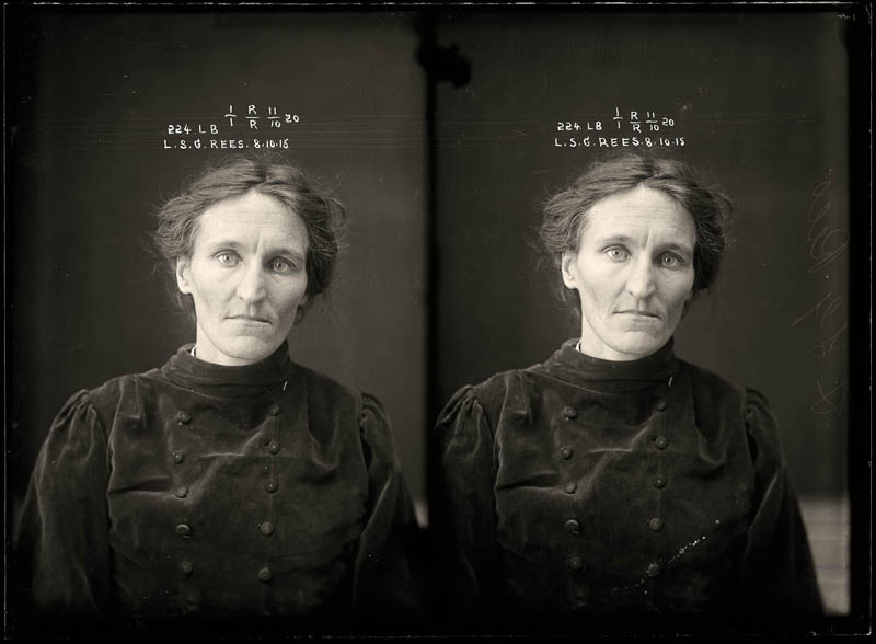 vintage female mug shots 22 Femme Fatales: 35 Vintage Female Mug Shots