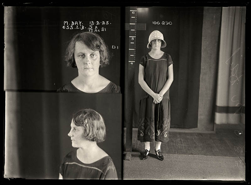 vintage female mug shots 26 Femme Fatales: 35 Vintage Female Mug Shots