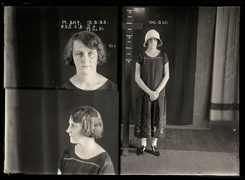 vintage female mug shots 26 Femme Fatales: 35 Vintage Female Mug Shots