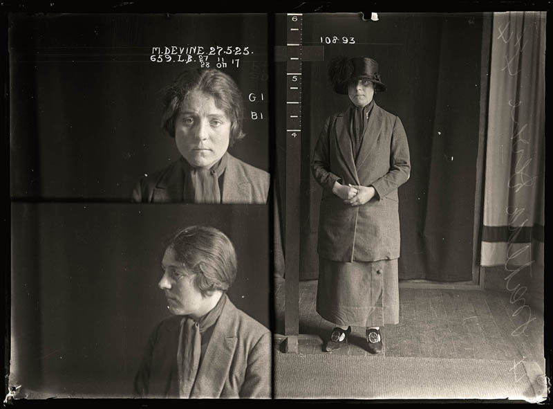 vintage female mug shots 29 Femme Fatales: 35 Vintage Female Mug Shots