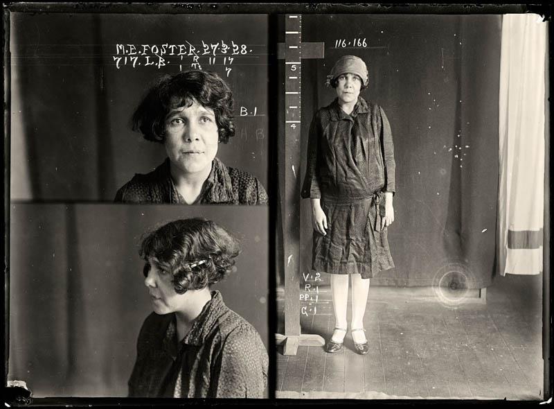 vintage female mug shots 30 Femme Fatales: 35 Vintage Female Mug Shots
