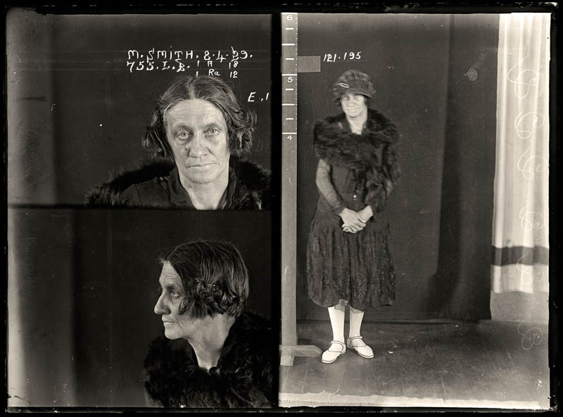 vintage female mug shots 31 Femme Fatales: 35 Vintage Female Mug Shots