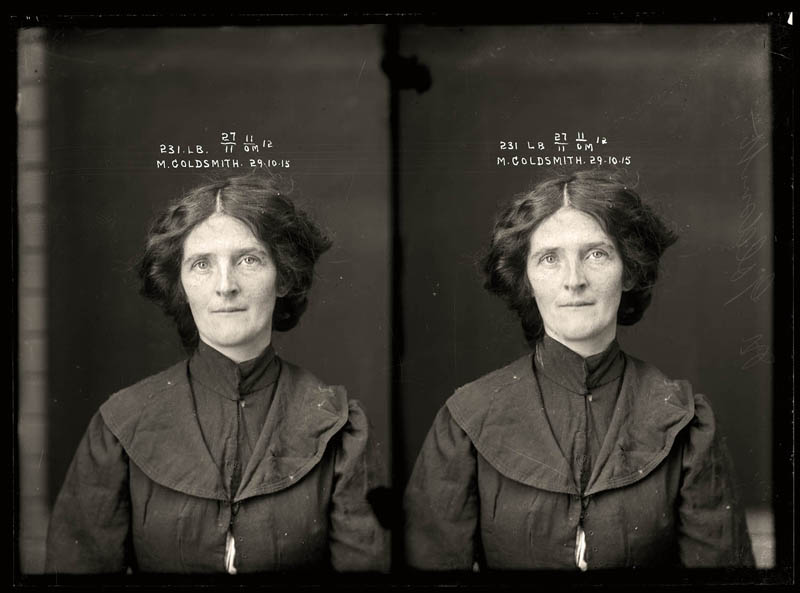 vintage female mug shots 33 Femme Fatales: 35 Vintage Female Mug Shots