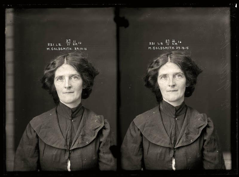 vintage female mug shots 33 Femme Fatales: 35 Vintage Female Mug Shots