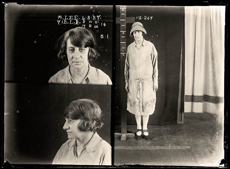 vintage female mug shots 34 Femme Fatales: 35 Vintage Female Mug Shots