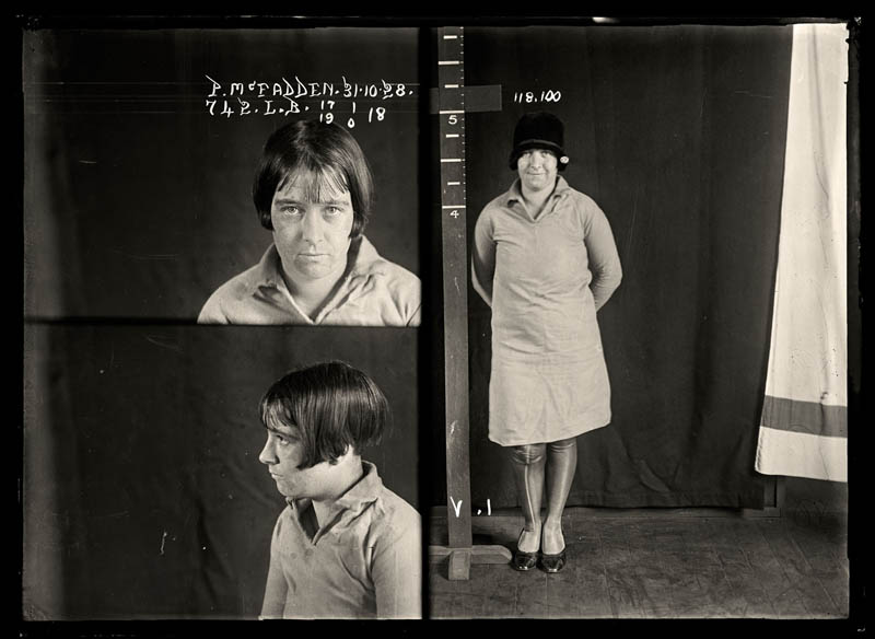 vintage female mug shots 39 Femme Fatales: 35 Vintage Female Mug Shots
