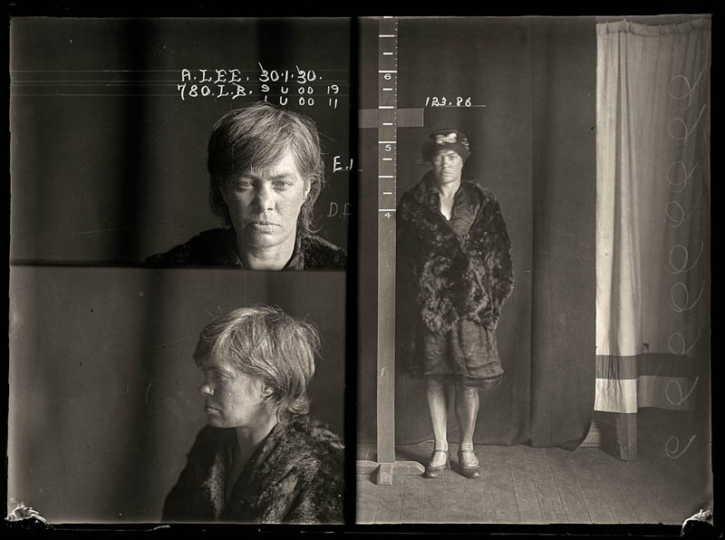vintage female mug shots 4 Femme Fatales: 35 Vintage Female Mug Shots
