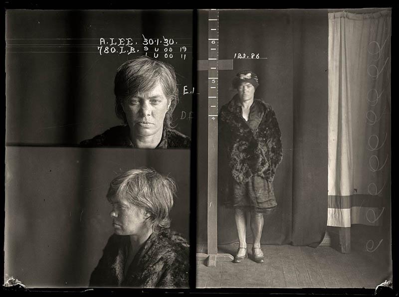 vintage female mug shots 4 Femme Fatales: 35 Vintage Female Mug Shots