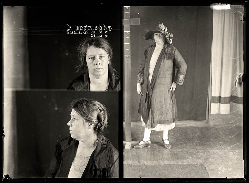 vintage female mug shots 40 Femme Fatales: 35 Vintage Female Mug Shots
