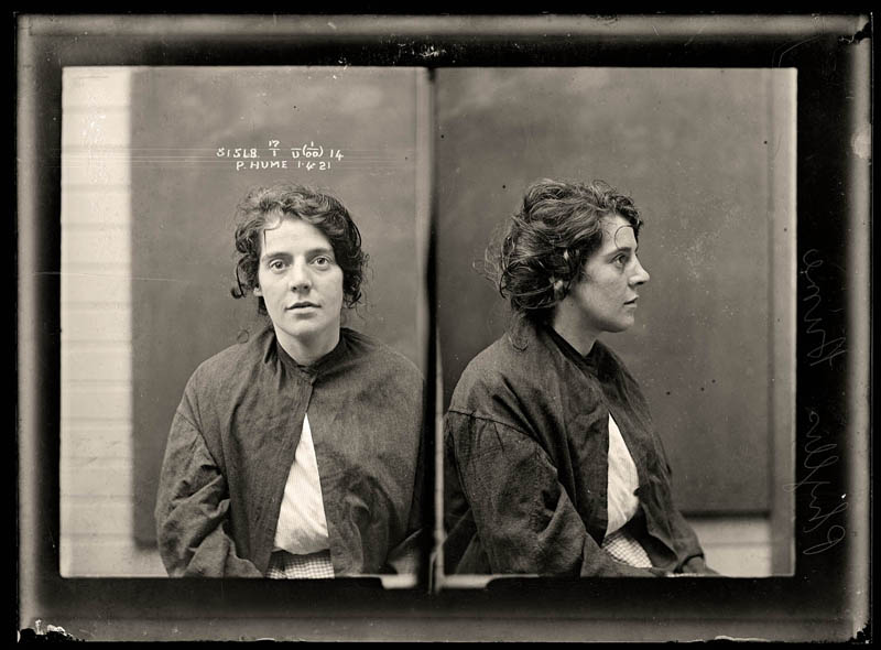 vintage female mug shots 411 Femme Fatales: 35 Vintage Female Mug Shots