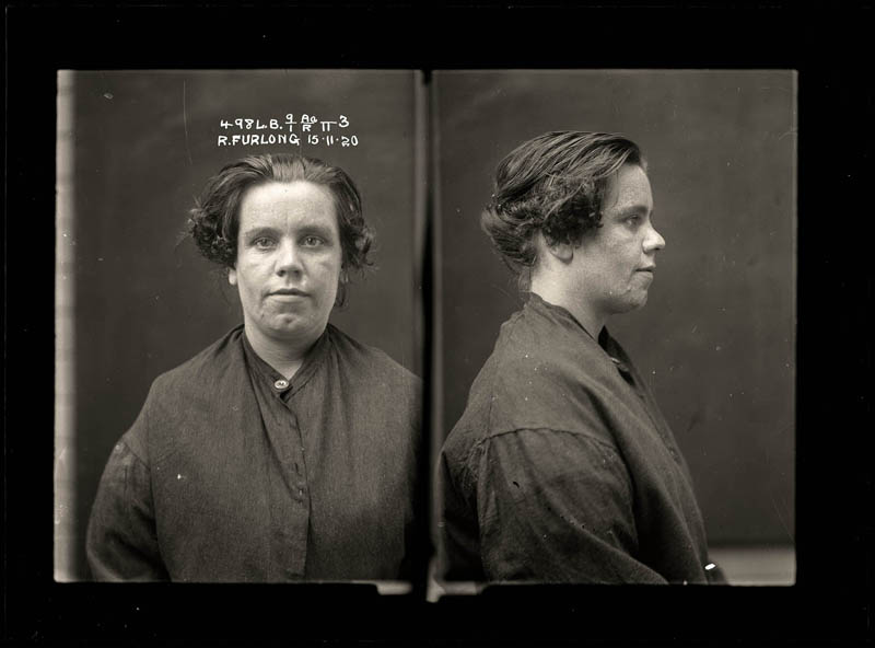 vintage female mug shots 42 Femme Fatales: 35 Vintage Female Mug Shots