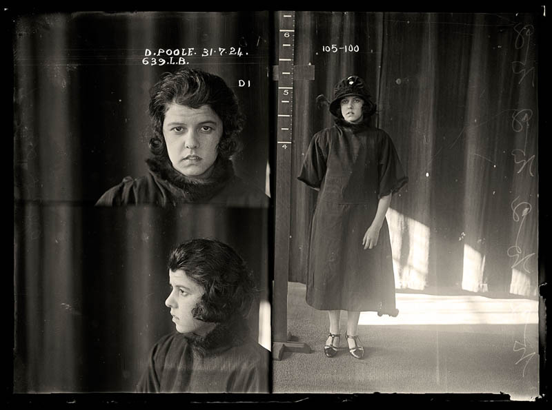 vintage female mug shots 7 Femme Fatales: 35 Vintage Female Mug Shots