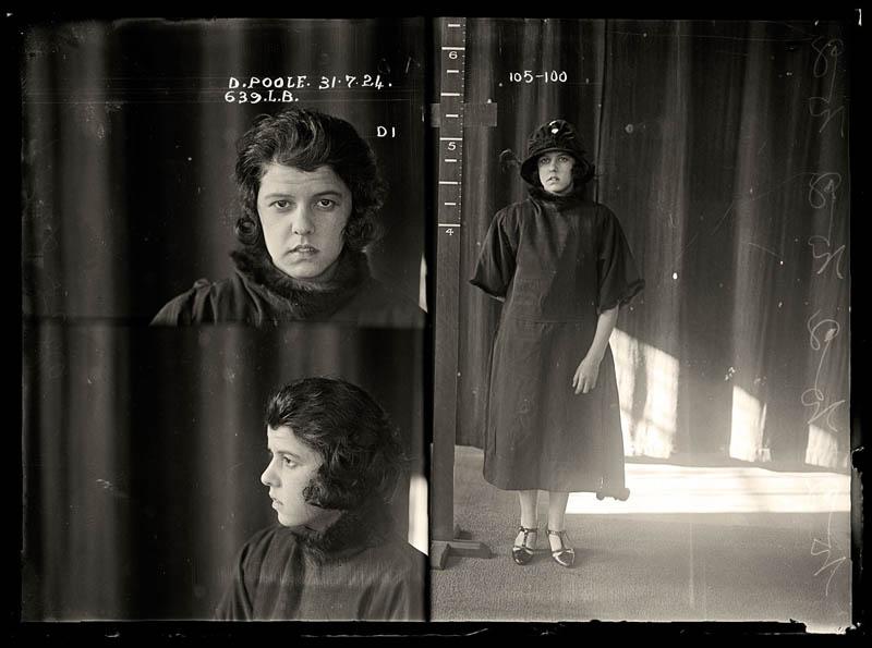 vintage female mug shots 7 Femme Fatales: 35 Vintage Female Mug Shots