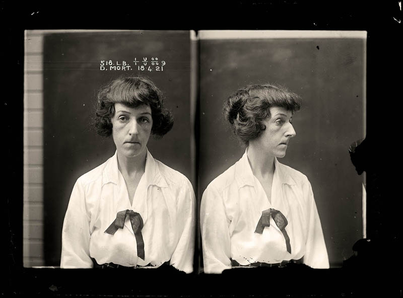 vintage female mug shots 8 Femme Fatales: 35 Vintage Female Mug Shots