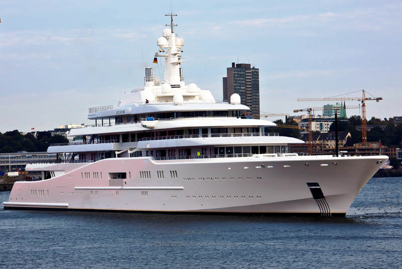 Eclipse The Largest Private Yacht In The World Twistedsifter