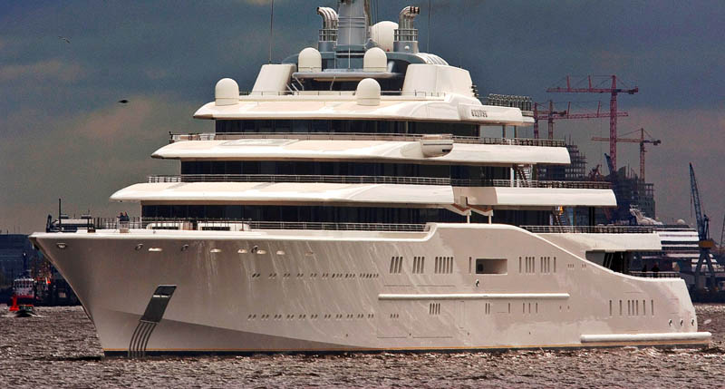 worlds biggest largest yacht eclipse roman abramovich 8 Eclipse   The Largest Private Yacht in the World