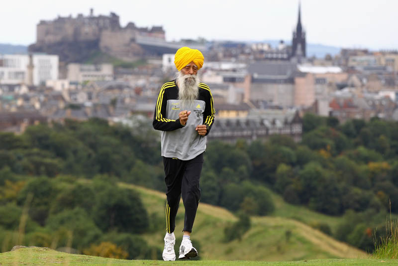Picture of the Day: World's Oldest Marathon Runner, 100 year-old FaujaSingh