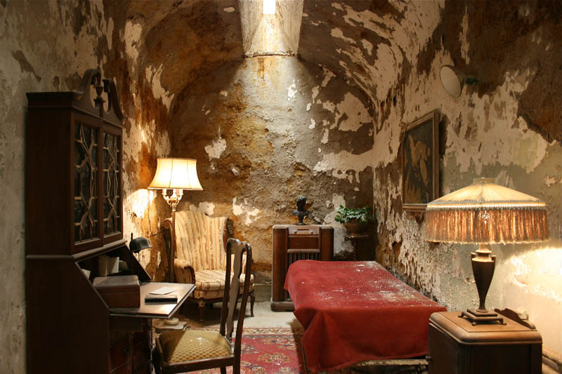 Picture of the Day: Al Capone's Jail Cell At Eastern State Penitentiary