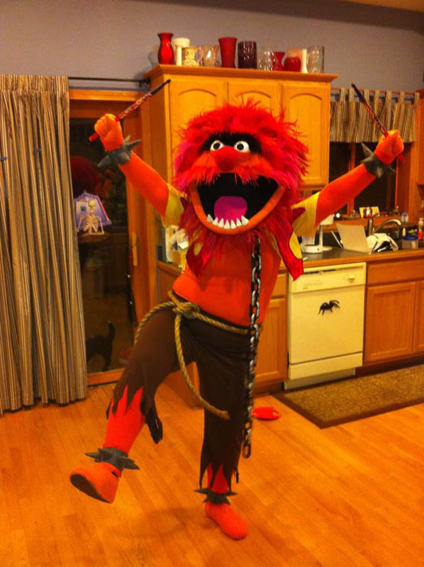 animal muppets hilarious halloween costume 25 Hilarious Halloween Costumes from the Weekend