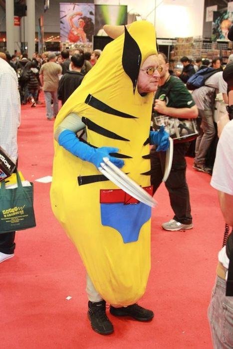 banana wolverine hilarious halloween costume 25 Hilarious Halloween Costumes from the Weekend