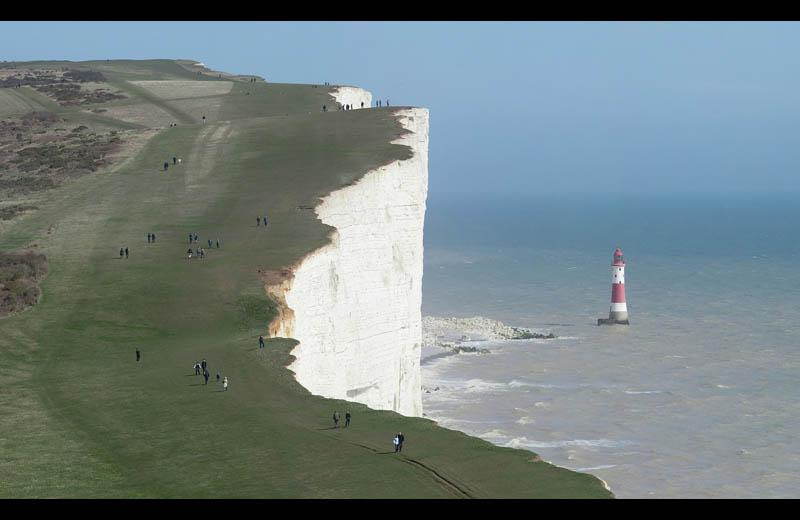beachy head chalk cliff east sussex britain Picture of the Day: The Beachy Head Chalk Cliff in Southern England
