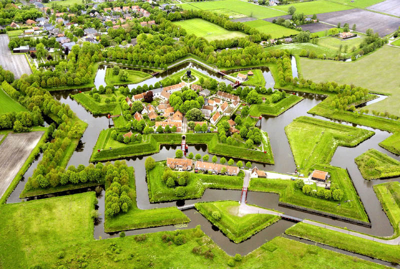 Groningen Netherlands  City pictures : ... the Day: Bourtange Star Fort in Groningen, Netherlands «TwistedSifter