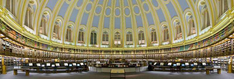british museum reading room 15 Beautiful Libraries Around the World