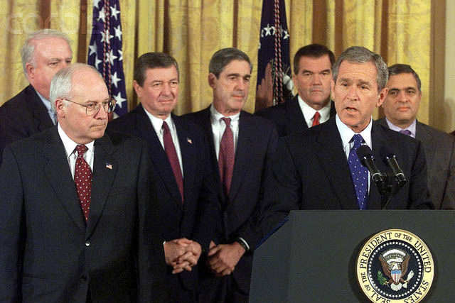 bush signs the patriot act october 26 2001 This Day In History   October 26th