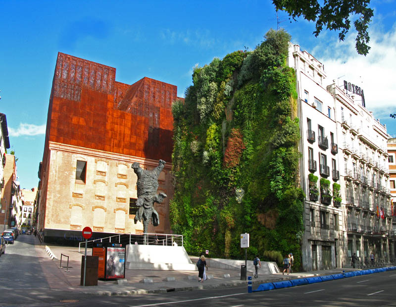 caixa forum madrid 5 15 Incredible Vertical Gardens Around the World