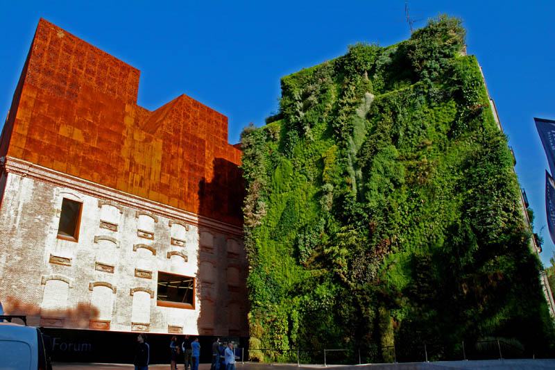 caixa forum madrid 9 15 Incredible Vertical Gardens Around the World